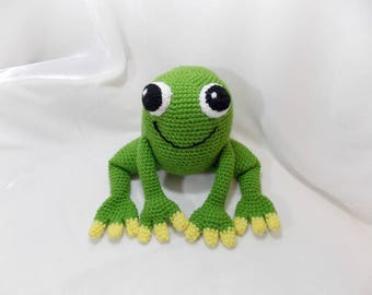 Mr.Frog  Doll Plush Toy/ Photography Prop/ Stuffed Toy / Soft Toy/Amigurumi Toy