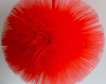 Tulle Pom Pom Decorations,pom pom decoration,wedding decoration,party decoration