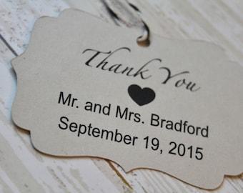 Hochzeit Gunsten Tag, Tag, Tag der Halterung, danke danke, was ich tun, Gunsten Sie Tag, Geschenkanhänger, Hochzeiten zu