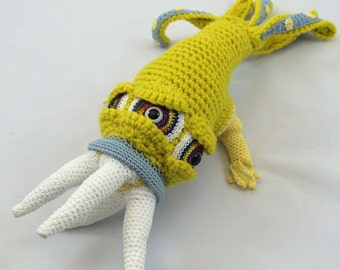Monster Crochet Pattern Kit, Amigurumi Pattern, Crochet Doll Pattern, Grimeclaw Monster Doll