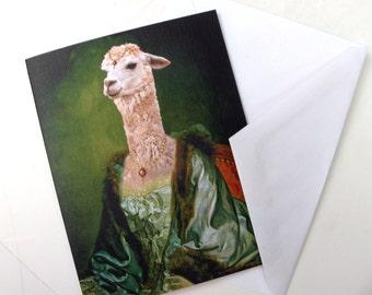 Imperatrice Vicugna - Note Card