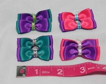Set of 8 Dog Grooming Bows