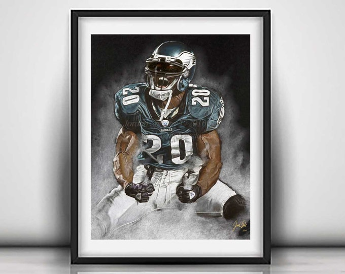 Brian Dawkins - Philadelphia Eagles - Art Print - Weapon X - Man Cave Art - Fly Eagles Fly - Eagles Decor - dorm decor - Gift Idea - philly
