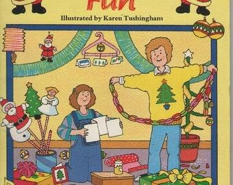 ON SALE Christmas Fun - Vintage 1980s Craft Book