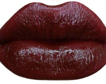 Lipstick~Blood Red Lipstick with a touch of Glitter Burlesque Matte Lipstick-BACK IN STOCK