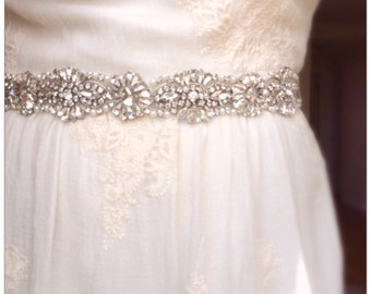 On sale!!! Rhinestone Bridal Sash,Wedding Dress Sash Belt, Rhinestone Sash, Rhinestone Bridal Bridesmaid Sash Belt, Wedding dress sash belt