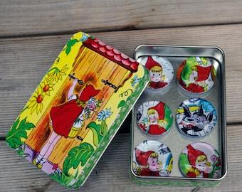 Little Red Riding Hood Magnet Set