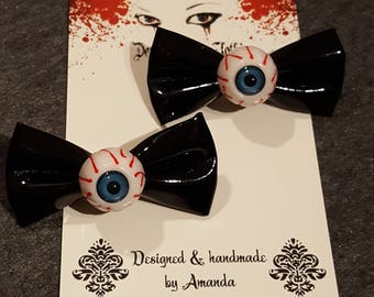 Black Eyeball Bows