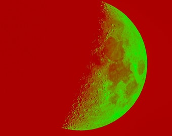 Green Moon/Red Space - 41%