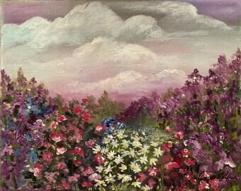 Imaginary Garden Painting
