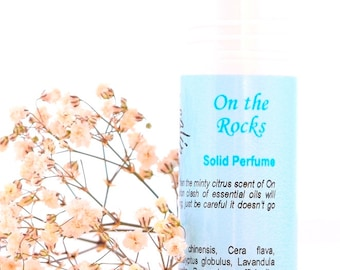 On The Rocks Solid Perfume | Fragrances | Roll On Perfume | Block Perfume | Natural Aromatherapy Perfumes