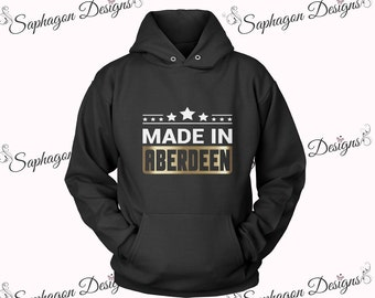 Made In Aberdeen Adult Hooded Sweatshirt