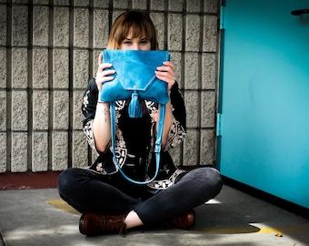 Olivia Shoulder Bag - Teal