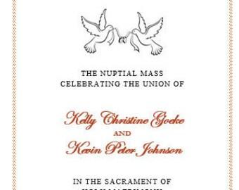 Catholic wedding | Etsy