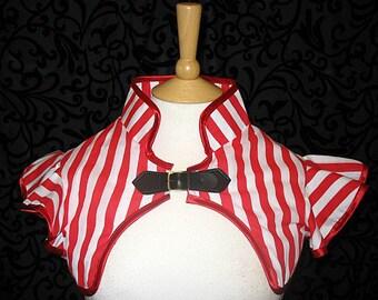 Lydia Stripey shrug steampunk goth cirque Lolita cosplay Anime size medium SALE
