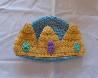 Crochet Crown Hat