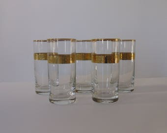 Gold decorated glasses/high glasses/water glasses/Beverage cups