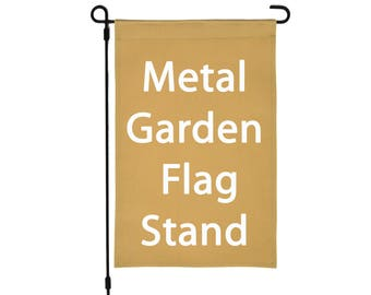 Accessory to any of our Flags, 3 Piece Breakdown Garden Flag Stand, Yard Flag Pole, Flag Holder