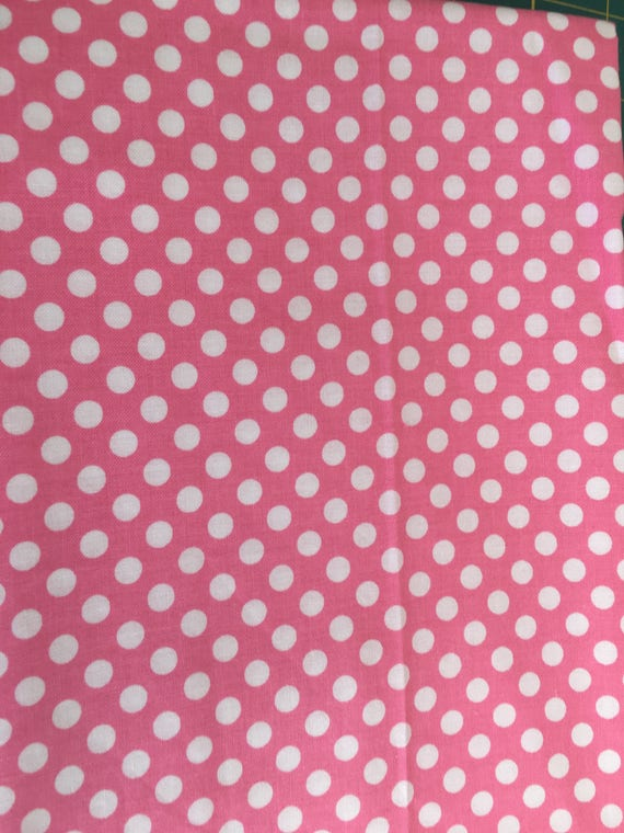 Riley Blake Basics Small Dot C350  3/4 yard - 1 yard