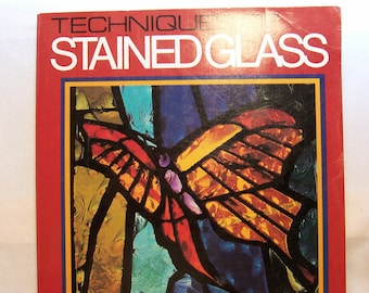 Book, Stained Glass Book, How To Book