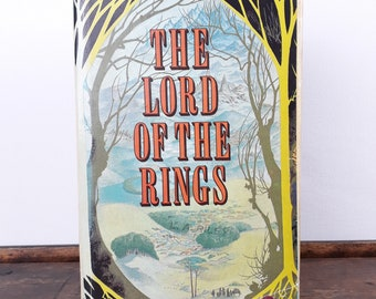 OOAK - The Lord Of The Rings - J.R.R. Tolkien - Secret Book Box - Hollow Book Safe -  Hidden Security box - Book lovers gift - recycled book