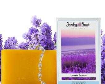 Lavender Seashore Jewelry Soap