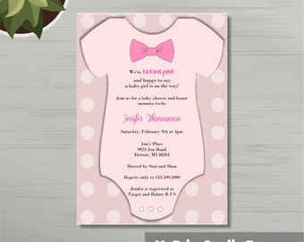 Creative Baby Boy Shower Invitation Digital File Thank You
