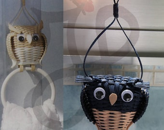 Decorative OWL for Japanese paper towel