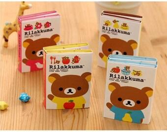 Rilakkuma Bear Fruits cute cartoon sticky notes