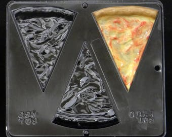 Plain Pizza Chocolate Candy Mold 1200
