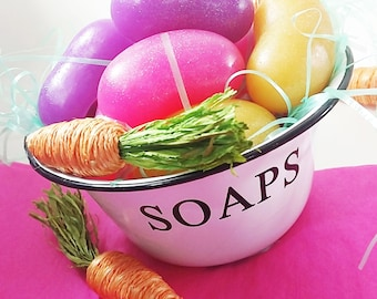 Easter gift. Easter basket fillers. Easter party favors. Giant JELLY BEAN glycerin soaps. Soap gift set. Easter basket for kids. Kids Easter