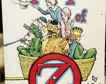 Tik-Tok of Oz by L. Frank Baum  1970 reprint of 1914 edition, Rand McNally & Co. publisher
