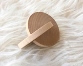 Montessori Baby Toy - Modern Toy - Montessori Toy - Grasping Toy - Rolling disc - Interlocking Disc - Natural Toy - Baby Shower Gift