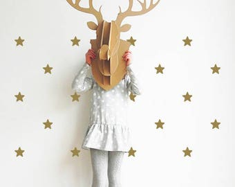 Star wall stickers - Various colours - Wall stickers - Set of 48