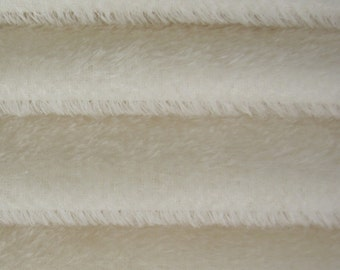 Quality 300S - Mohair - 1/3 yard in Intercal's Color 100-White.  A German Mohair Fur Fabric for Teddy Bear Making, Arts & Crafts