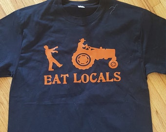 Eat Locals T-shirt