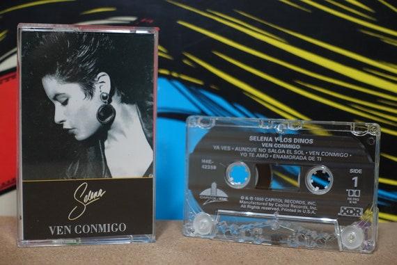 Ven Conmigo by Selena Vintage Cassette Tape