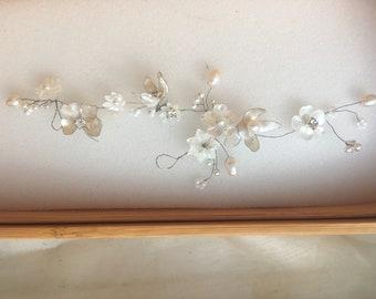 Wedding hair accessory hair vine