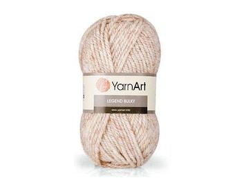Legend Bulky Yarnart Wool Knitting yarn Wool shawl warp Winter yarn Blend wool Wool yarn Acrylic yarn Crochet yarn Blend yarn Legend Yarnart