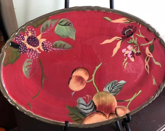 "Tracy Porter Octavia Hill Oval Platter 15"""