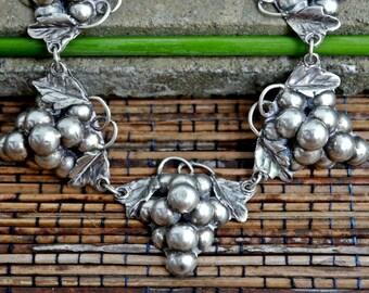 Vintage, Taxco, Mexico Handmade Sterling Silver Bracelet