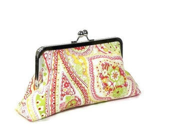 SUGAR BABY - Classic Day Clutch - Watermelon Lemon Lime