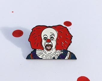 Pennywise Bubblegum Pin (Glow in the Dark Eyes)