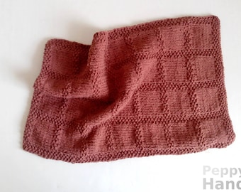 Knitting Dishcloth PATTERN wash cloth instant download pdf
