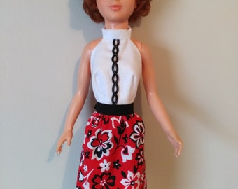 OOAK doll clothes for Magic Hair Crissy and/or Tiffany Taylor - Smart Chic