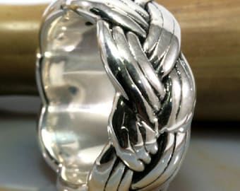Ring, 925 sterling silver, electroforming - 3013