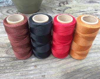 Macrame waxed string- very high quality- Best you can get!