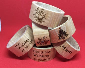 Napkin rings for all occasions