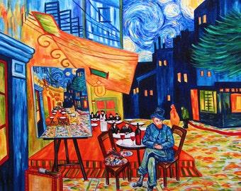 Art Print, Print, Cafe Art, van Gogh Artwork,  Art Print, Home Decor