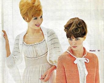 SIRDAR 2232 Vintage Ladies Knitting Pattern Instant Download